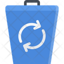 Recyclable Waste Waste Disposal Disposing Trash Icon