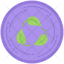 Leaf Cycle Ecology Icon