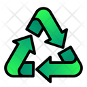 Recycle Triangle Arrow Icon