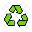 Recycle Natural Recycle Nature Icon