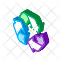 Environmental Industry Recycle Icon