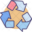 Recycle Reprocess Enviroment Icon
