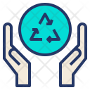 Recycle Care Reuse Icon