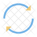 Artboard Clockwise Around Icon