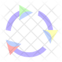 Recycle Cycle Refresh Icon