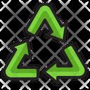 Recycle Trash Bin Icon