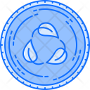 Recycle Leaf Cycle Icon