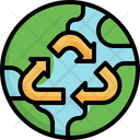 Recycle Mother Earth Day Save The World Icon
