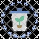 Recycle Compost Eco Icon