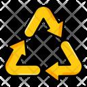 Recycle Arrow Reprocessing Arrow Arrowhead Icon