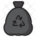Recycle Bag Trash Bin Icon