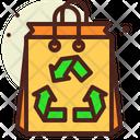 Recycle Bag Paper Bag Paper Bag Icon