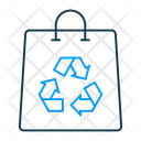 Recycle Bag Ecological Bag Paper Bag Icon