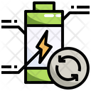 Recycle Battery Recycle Renewable Energy Icon
