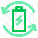 Battery Recycle Hardware Icon