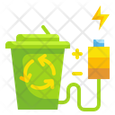 Recycle Battery Energy Recycle Battery Technoloy Icon