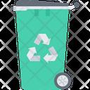 Bin Recycling Trash Icon