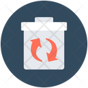 Dustbin Recycle Bin Garbage Container Icon