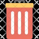 Trash Can Dustbin Icon