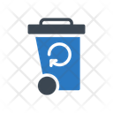 Basket Recycle Garbage Icon