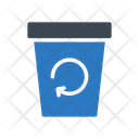 Recycle Basket Waste Icon