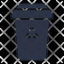 Trash Bin Recycle Icon