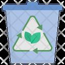 Bin Eco Recycle Icon