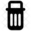 Garbage Bin Icon Creative Symbol Waste Bin Icon