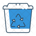 Recycle Bin Garbage Ecology Icon