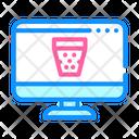 Recycle Bin Delete Digital Icon