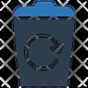 Bin Recycle Rubbish Icon
