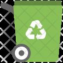 Recycling Trash Saving Icon
