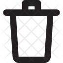 Dustbin Garbage Recycling Icon