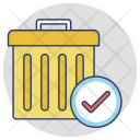 Recycle Bin Deleted Icon