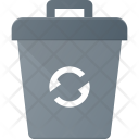 Recycle Bin Can Icon