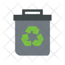 Bin Ecology Recycle Icon