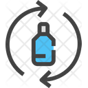 Recycle Bottle Ecology And Environment Icon