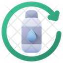 Water Bottle Ecology Recycle Bottle Icon