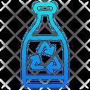 Recycle Bottle Trash Bin Icon