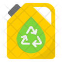 Recycle Can Fuel Oil Icon