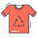 Recycle Clothe Shirt Recycle Icon