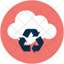 Cloud Recycling Recycle Icon
