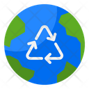 Recycle Earth Recycle Globe Recycle Icon