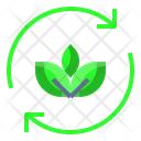 Recycle Ecology Leaves Icon