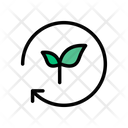 Green Power Agriculture Icon