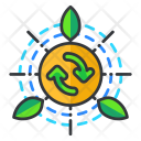 Recycle energy Icon