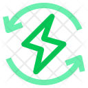 Recycle Energy Electric Icon