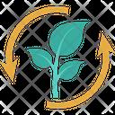 Recycle energy Icon