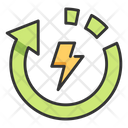 Recycle Energy Recycle Energy Icon