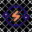 Reload Power Lightning Icon